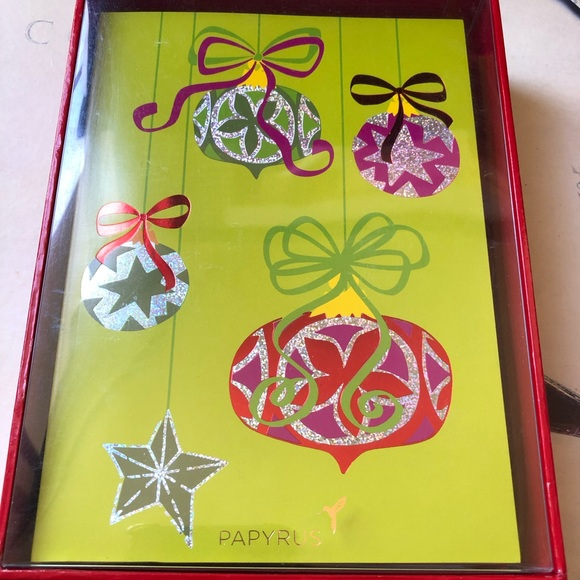 Papyrus Christmas Cards.Box Of 14 Papyrus Christmas Cards Nwt